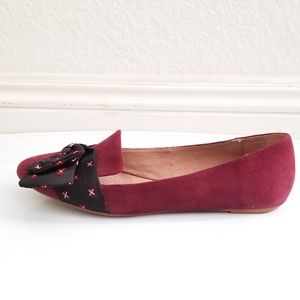 Anthropologie Shoes - Anthropology Suede Flats